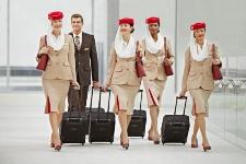 levné letenky Emirates letušky