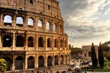 levné letenky Řím
